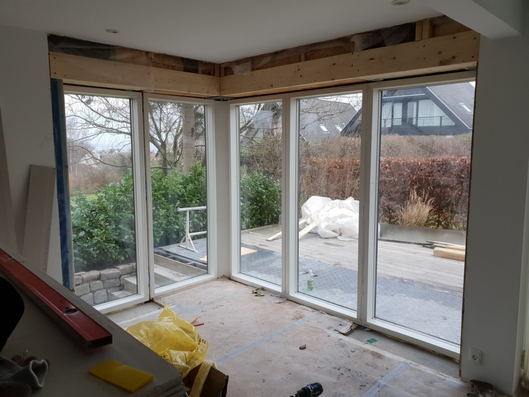 nye vinduer og døre