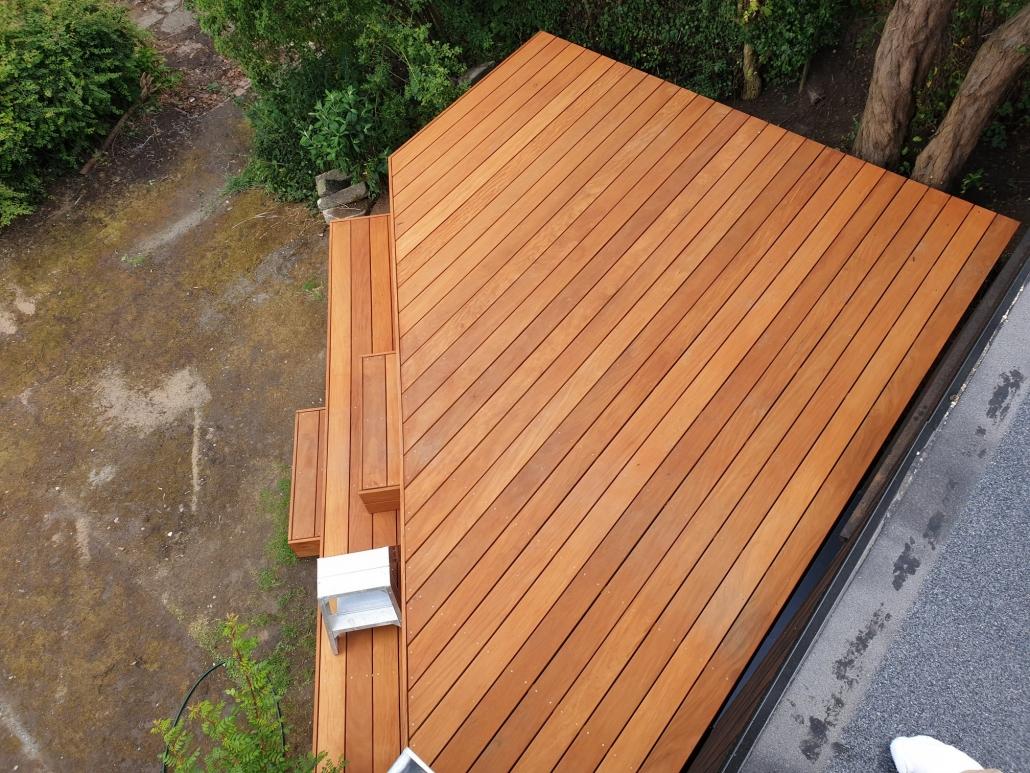 terrasse i træ