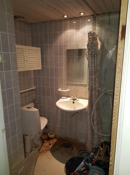 renovering af badeværese