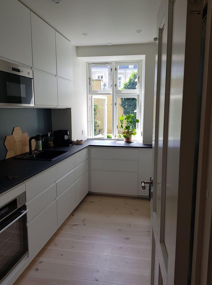 Køkkenvindue