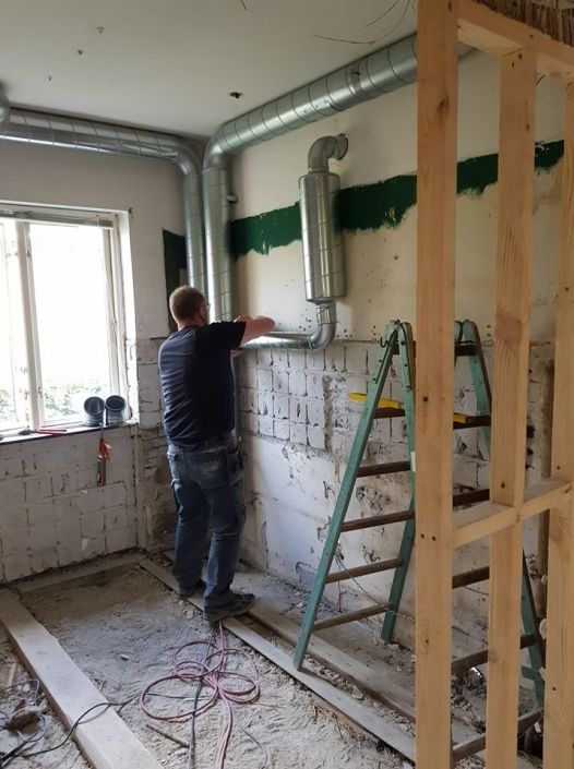 Tømrer arbejde