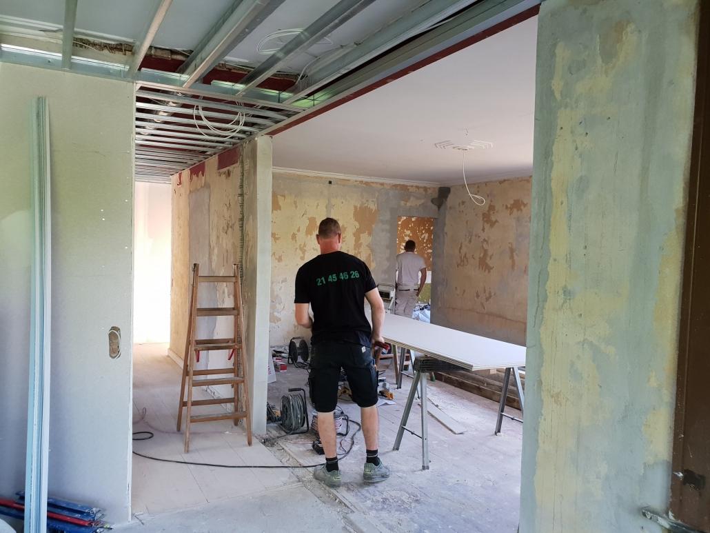 Tømrer til renovering