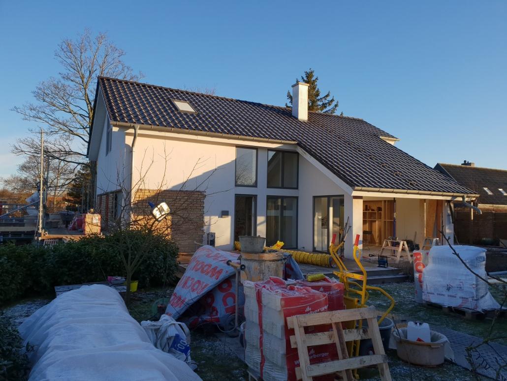 Totalrenovering af hus