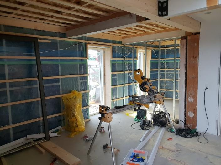 indendørs renovering