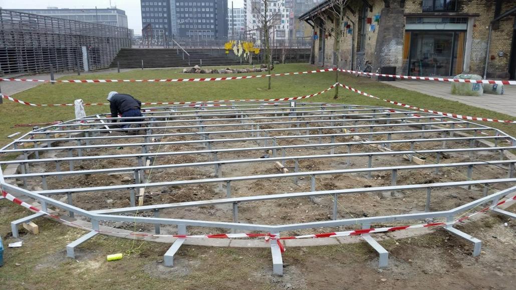 Udgravning til byggeri