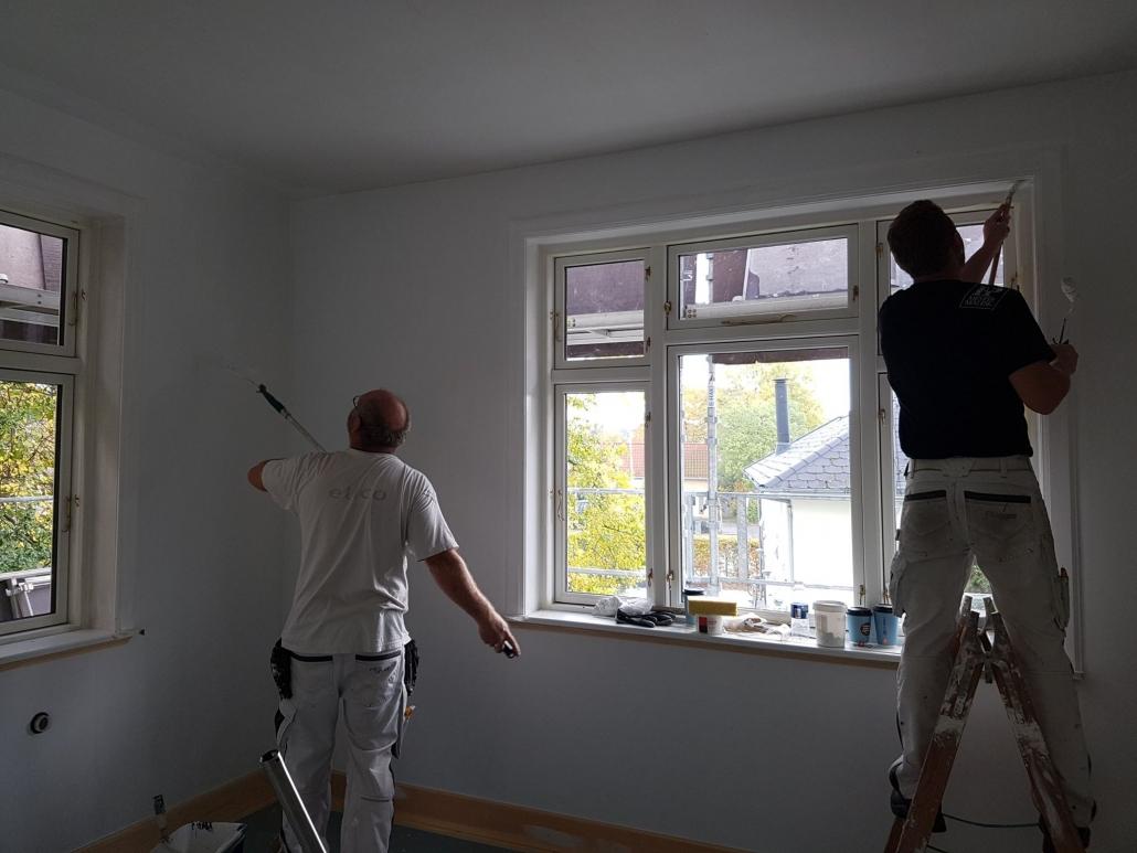 Tømrere og malere