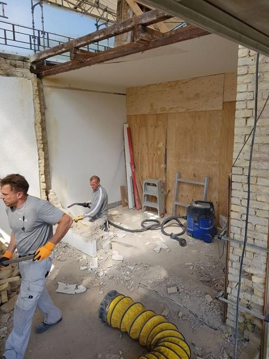 To tømrere arbejder