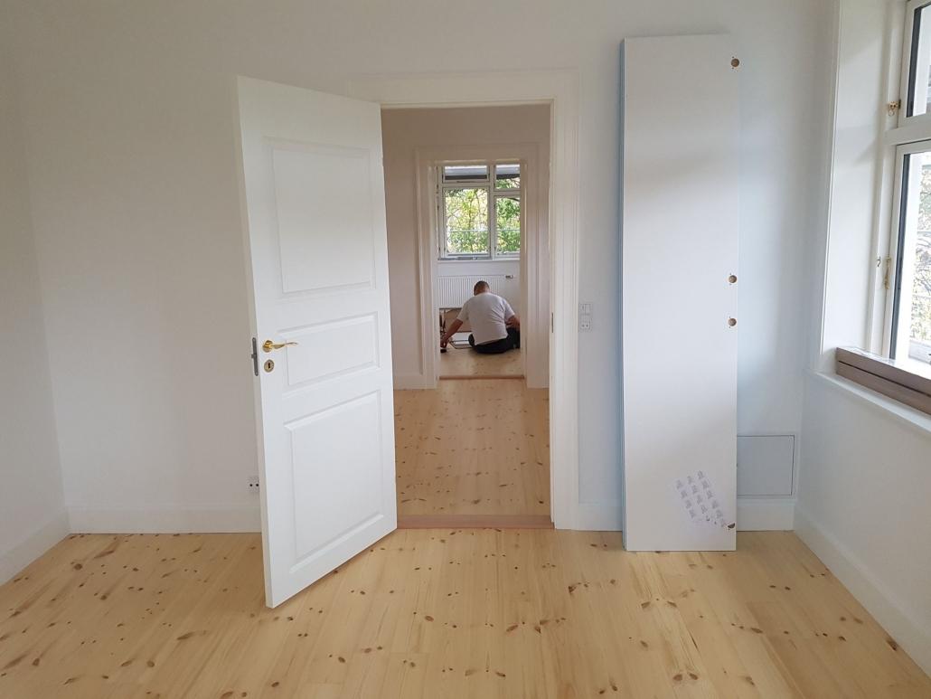Tømrer til udskiftning af døre og vinduer