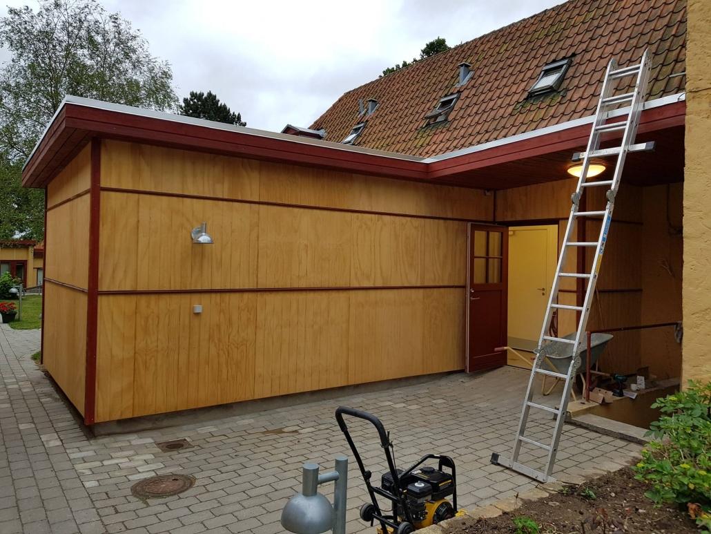 Tømrefirma til tilbygning