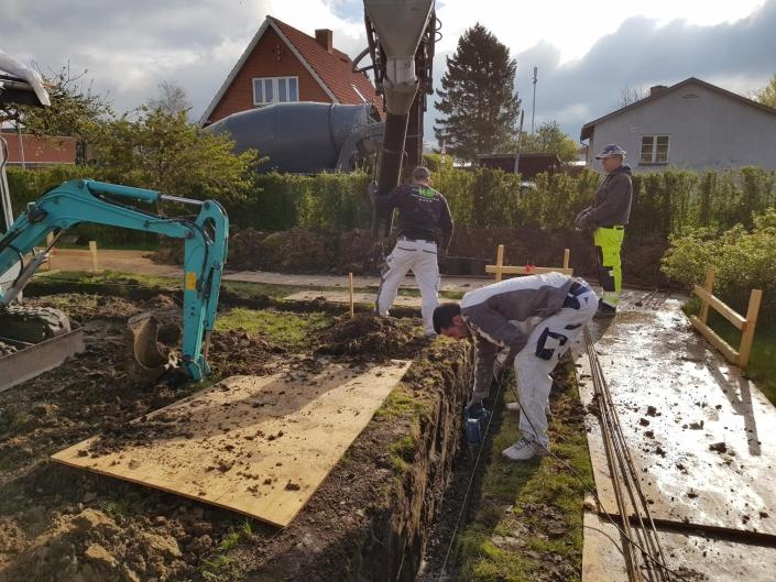 Tømrer graver